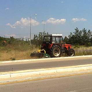 Καθαρισμός και αποψιλώσεις οδών